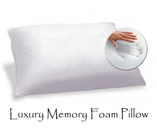 Memory Foam Pillow Orthopaedic Bedroom Sleep Head Neck Back Support Home Contour
