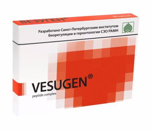 Vesugen Blood Vessels Peptide Complex 20 capsules