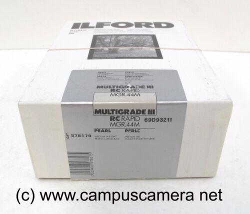 Ilford Multigrade III RC Rapid MGR 44M Pearl 250sh B&W multigrade photo paper