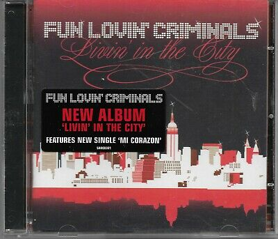 FUN LOVIN CRIMINALS -Livin' In The City- 11 track (Fun Lovin Criminals Livin In The City)