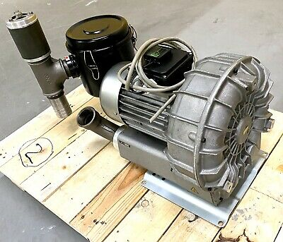 Reitschle Vacuum Blower Motor 3 Phase Sap 150 Bora Cleaned And Checked