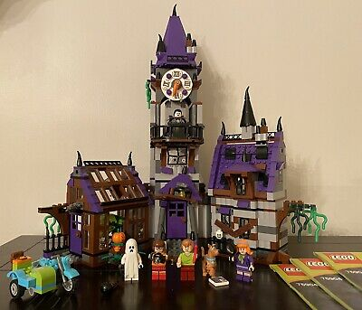 Lego Scooby Doo Mystery Mansion 75904 With All 3 Instruction Booklets Read