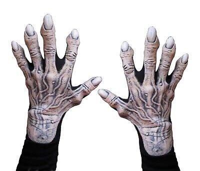 Zombie Corpse Monster Vampire Undead Hands Adult Halloween Costume Gloves