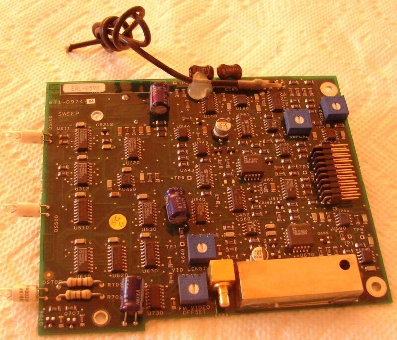 Tektronix EAL-0590  671-0974-04 Sweep  Board