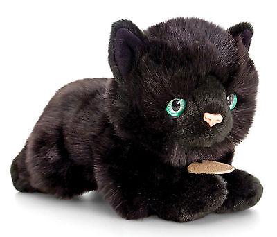 Plüschtier Katze schwarz Kuscheltier Kater Signature Kittens, Stofftier ca.30cm