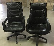 Leather office chair Canada Bay Canada Bay Area Preview