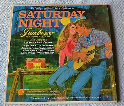 Saturday Night Jamboree Instrumentals Various Artists Living Sound Records 12 Lp