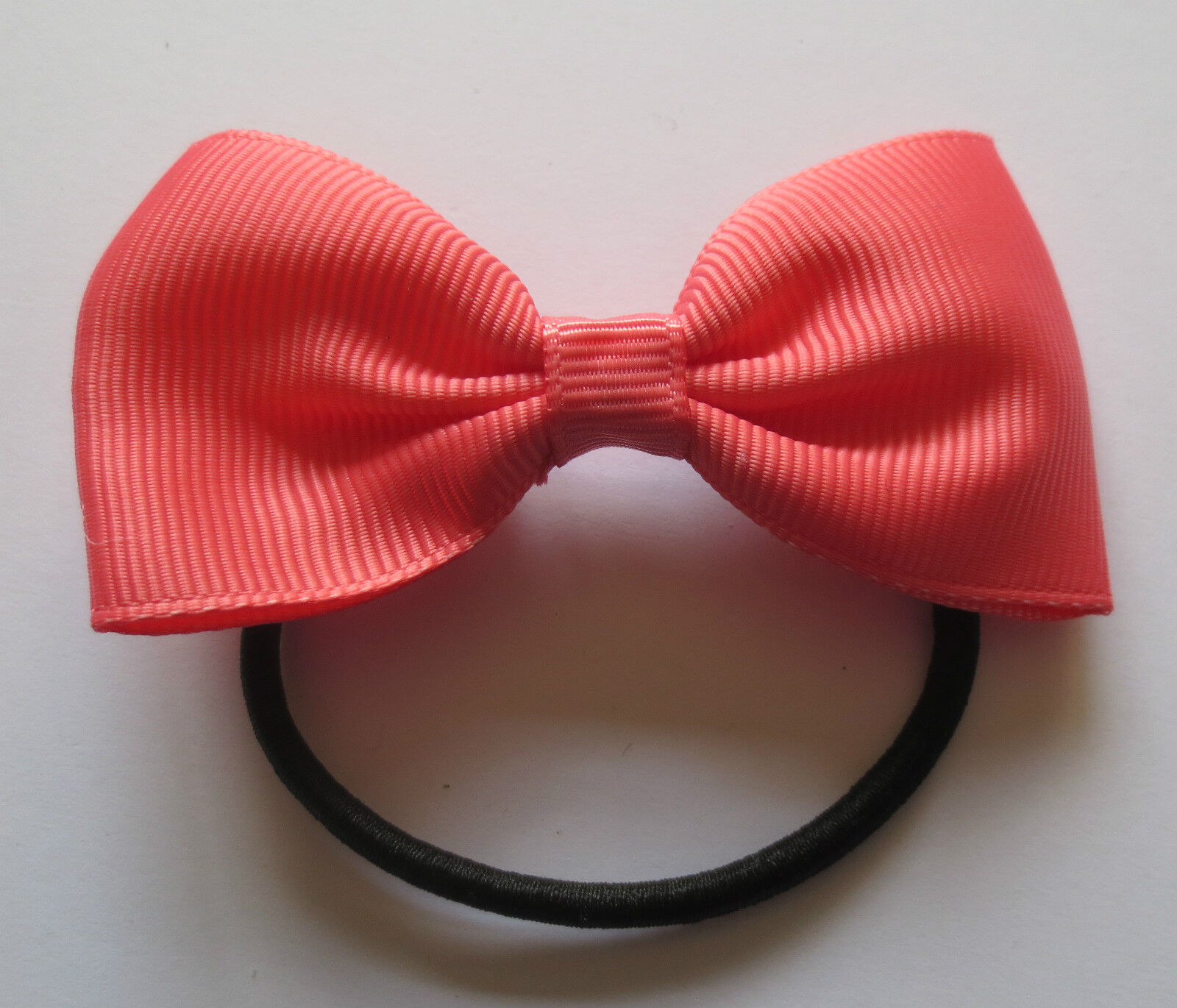 LADIES GIRLS NON-TANGLE BOW HAIR BAND TIES - 15 COLOURS  9747c1bd031