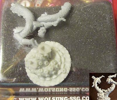 Wolsung W00107 Tentacled Abomination with Golem The Scylla Micro Art Studio NIB