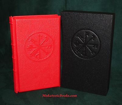 THE BRITISH BOOK OF SPELLS AND CHARMS, Witchcraft, Troy Books, DELUXE RED GOAT