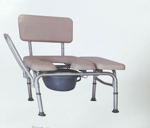 Bedside Toilet Chair Shower Commode Seat Bathroom Potty Stool