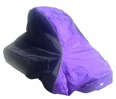Quarter Midget Car Cover Black and Purple , used for sale  Madera