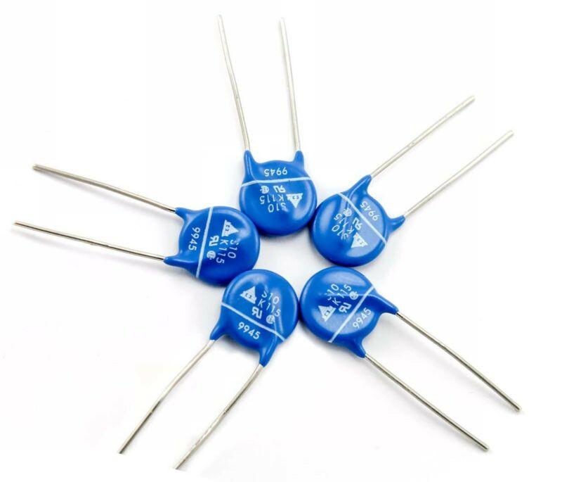 10 pcs Epcos S10K115G5 115Vac MOV 10mm Metal Oxide Varistor 150vdc