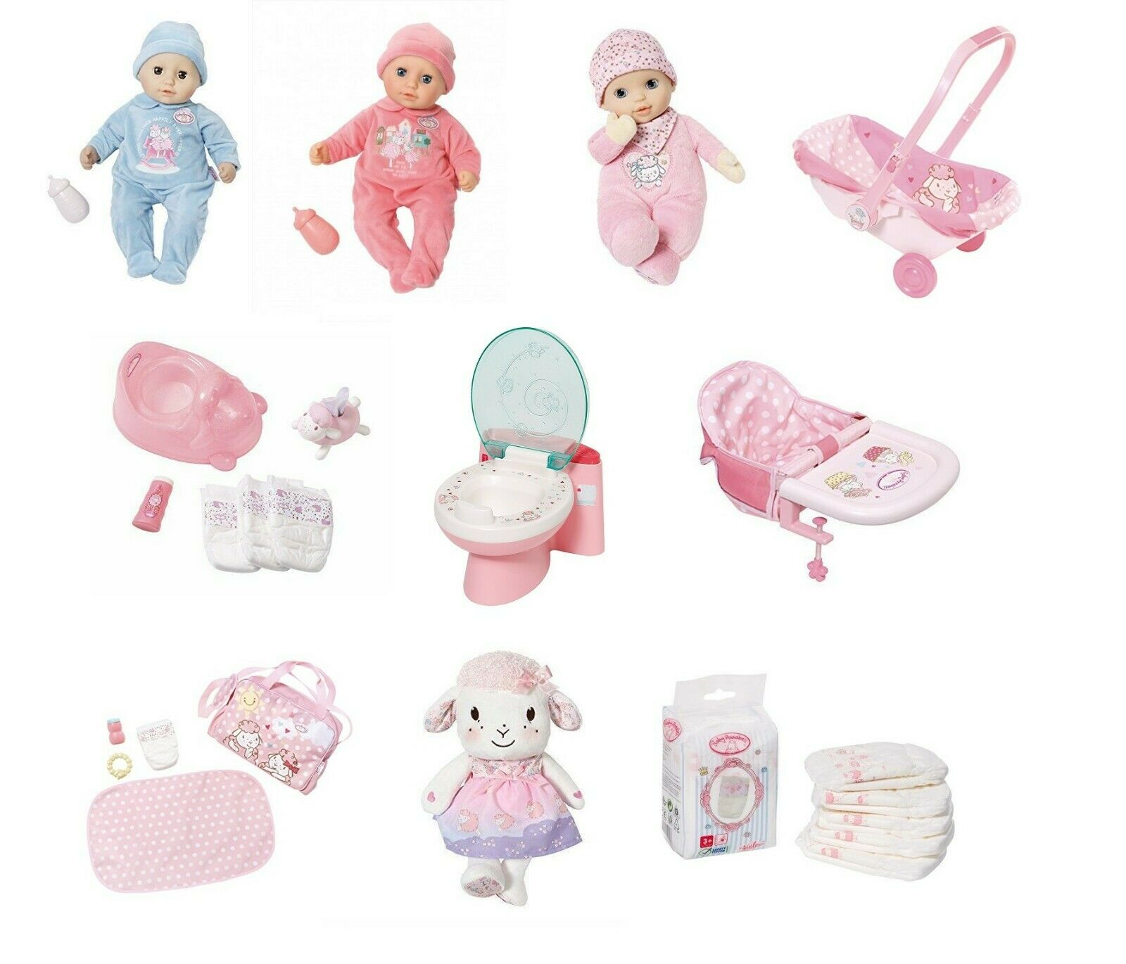Zapf Baby Annabell Milk Bottle Doll Accessory
