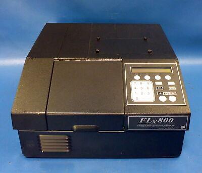 BIO-TEK FLx800 Microplate Fluorescence Reader w/ Filter Wheels FLX800TB