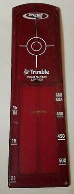 Trimble Spectra Large Pipe Target Insert - 2