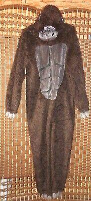 Magic Florett Textil Gorilla Kostüm Gr S (Gorilla Kostüm Anzug)