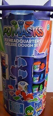 Pj Masks Kids Headquarters Deluxe Dough Set 3+