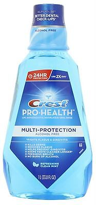 - Crest Pro-Health Oral Rinse Refreshing Clean Mint 1000 mL (Pack of 3)
