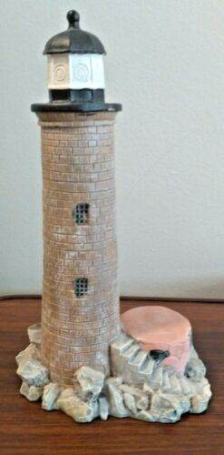 Vintage 1995 Scaasis Originals Whaleback Lighthouse Portsmouth NH, Kittery ME