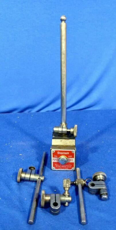 STARRETT 657 Magnetic Base and holder