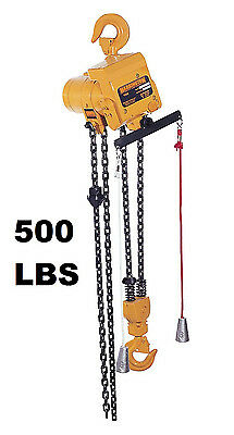Harrington Tcr Cord Controlled Air Hoist 500 Lb Capacity 10 Ft Lift