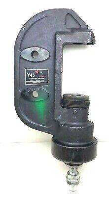 Burndy Y45 Hypress 9500-10500-psi Remote Hydraulic Crimper Crimp Head
