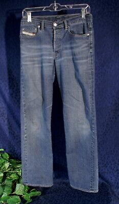 DIESEL SKINT Stonewash Indigo Blue Denim Jeans Size 29 for sale  Shipping to India