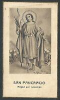 Estampa Antigua De San Pancracio Andachtsbild Santino Holy Card Santini -  - ebay.es