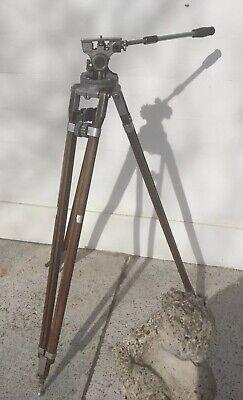 Vintage Professional Junior Movie Camera Tripod Camera Equipment Co.