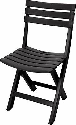 Kunststoff Gartenstuhl - 5 Farben - Bistrostuhl Klappstuhl Campingstuhl klappbar