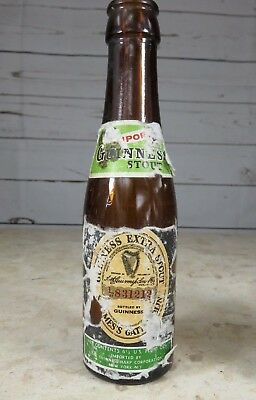 Vintage Guinness Extra Stout Bottle - Great Bar Display