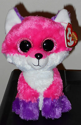 """Ty Beanie Baby Boos - JOEY the 6"""" Fox Claires Exclusive ~ 2016 NEW ~ MWMTS"""