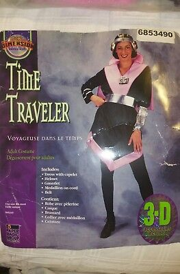 Halloween Costume Magic Dimension Time Traveler Adult One Size 3-D Access. Incld](Time Travel Halloween Costumes)