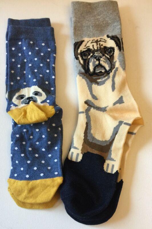 Pug Socks 2 Different Designs