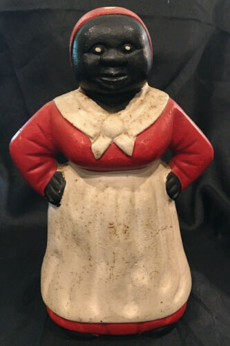 8 inch Cast Iron Coin Bank