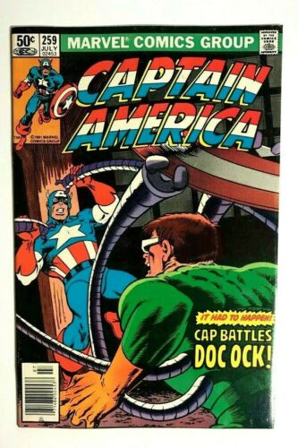 CAPTAIN AMERICA # 259 (July 1981) | NM- 9.2 | Marvel