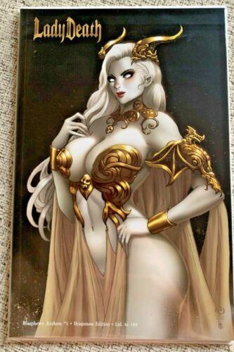 Lady Death Blasphemy Anthem #1 Dragoness Edition NM unsigned