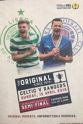 Celtic v Rangers - Scottish Cup Semi-Final - 15 April 2018 - Limited Price L@@K