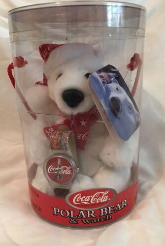 Coca Cola Polar Bear & Watch Limied Edition By Cavanagh