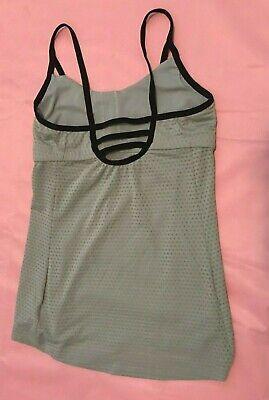 Athleta Workout Yoga Tank Top Light Gray size XS