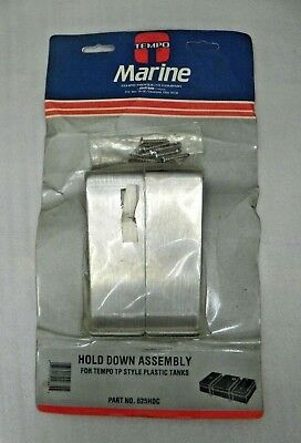 NOS Tempo Marine Fuel Hold Down Assembly  #625HDC  for TP Style Plastic Tanks