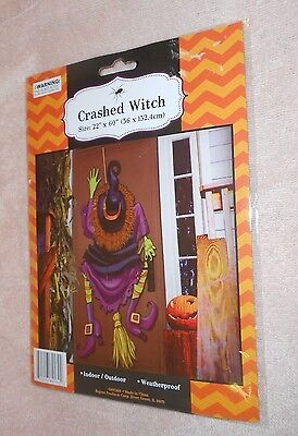 Halloween Crashed Witch - Size 22