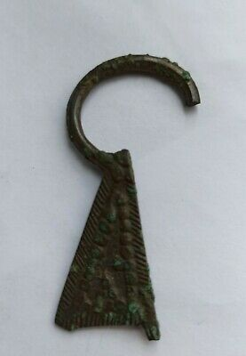 ANCIENT VIKING OMEGA BROOCH FRAGMENT 900-1000 AD