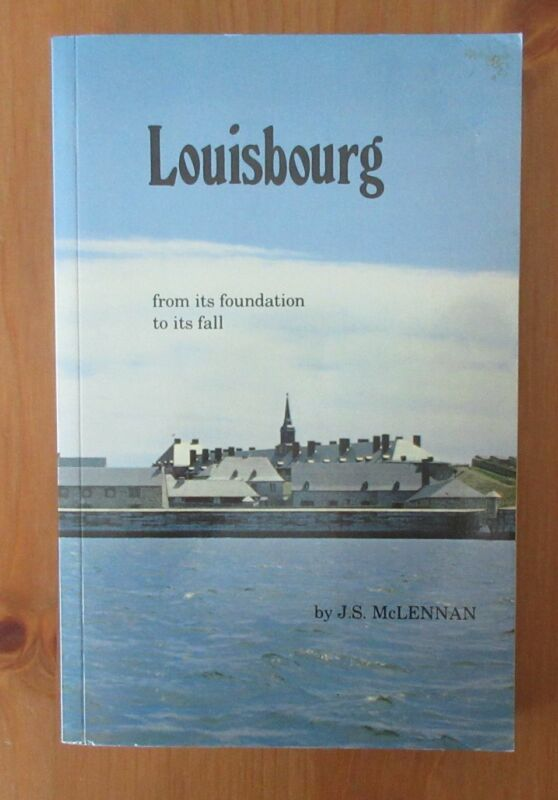 book LOUISBOURG SIEGE SEVEN YEARS WAR CANADA