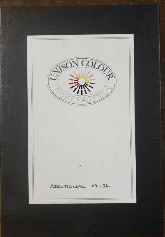 Unison Colour Soft Pastels Additional 19-36