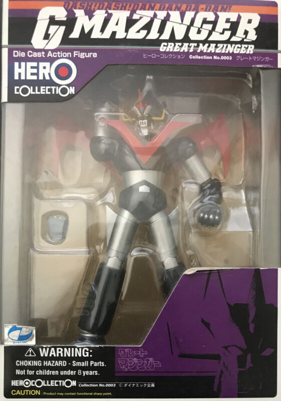 G Mazinger Hero Collection: Great Mazinger die cast action figure. New unopened