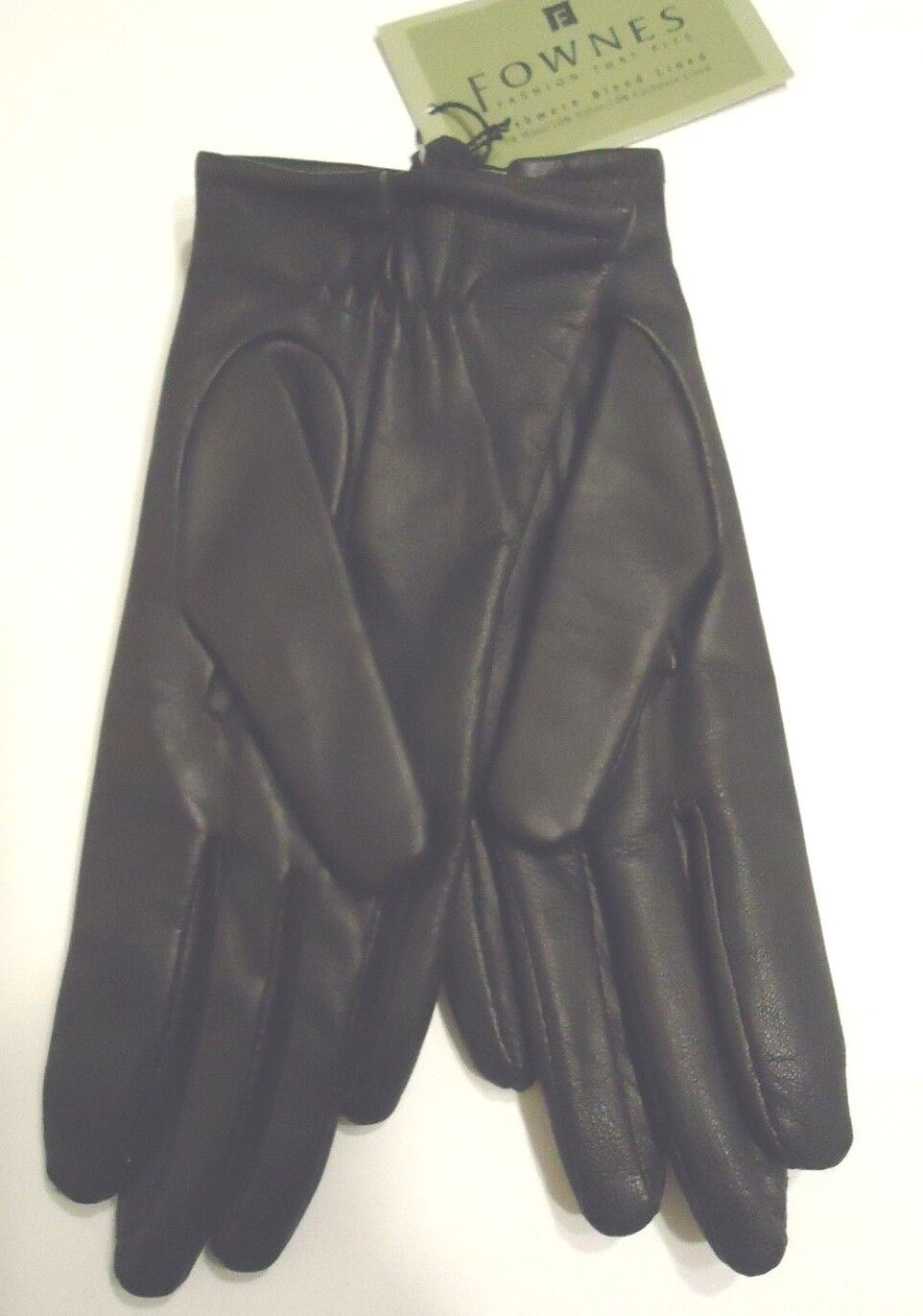 Ladies leather gloves extra small - Ladies Fownes 100 Cashmere Lined Genuine Leather Gloves Black Small