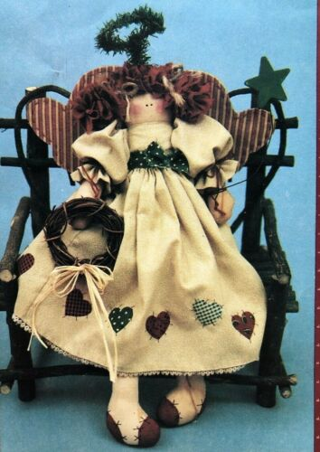 """ANGEL OF MY HEART 15"""" Doll Pattern by Country Stitches"""