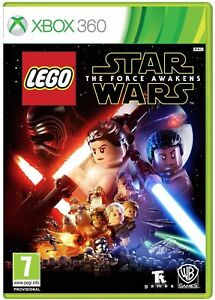 LEGO Star Wars The Force Awakens Xbox 360 Brand New Factory Sealed